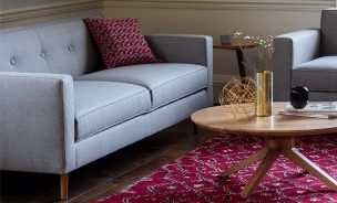 Moulton Sofa & Armchair