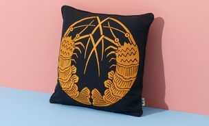 Shrimps Cushion
