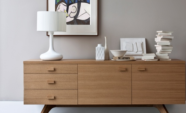 Cross Sideboard | Oak | Matthew Hilton Furniture | Case Furniture